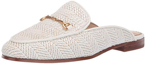 (Sam Edelman Women's Linnie Shoe, White Raffia, 10.5 M US)
