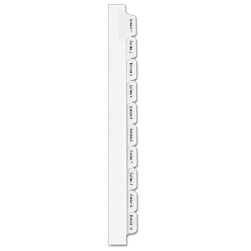 Avery Collated Legal Exhibit Dividers, Allstate Style, Exhibit 1-25, Side Tab, 8.5 x 11 inches, 1 Set (82106) ()
