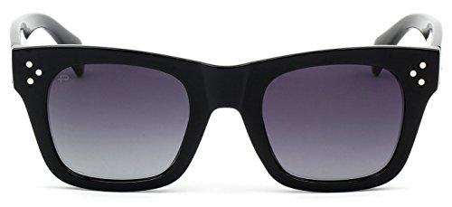 "PRIVÉ REVAUX ""The Kennedy"" Handcrafted Designer Sunglasses For Men & Women - Sunglasses Kennedy"