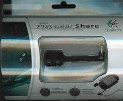 PSP PLAYGEAR SHARE AUDIO Y SPLITTER