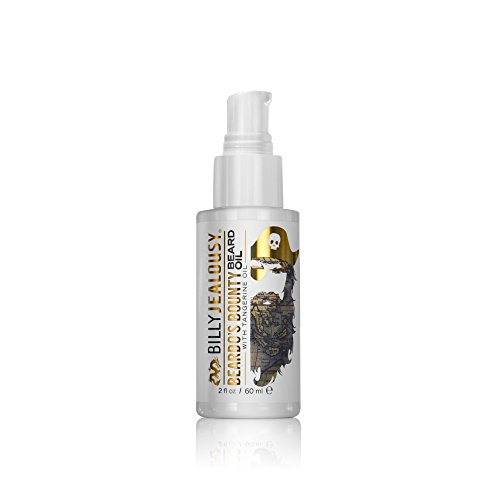 Billy Jealousy Moisturizing Strengthening & Softening Everyday Beard & Stache Oil, Beardo's Bounty, 2 Oz.