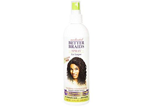 Better Braids Medicated Braid Spray, 12 Fluid Ounce from BETTER BRAIDS
