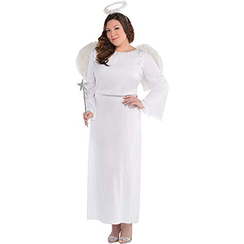 AMSCAN, Heaven Sent Angel Halloween Costume for Women,