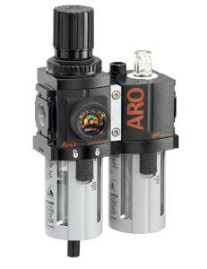 "ARO C38231-600-VS Air Filter-Regulator-Lubricator Combination, 3/8"" NPT"
