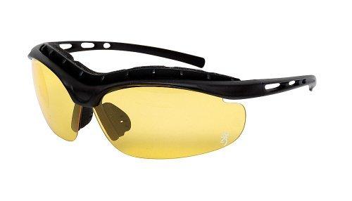 Browning Sundown Sunglasses - Black / Yellow by - Browning Sunglasses