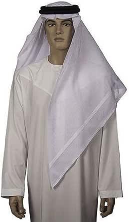 White Casual Ghutra For Men