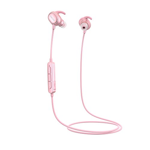 U-QCY Bluetooth Headphones,Sports Music Caling Universal Wireless Headset Earphones - Rose Gold by U-QCY