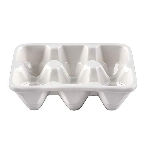 (Creative Co-Op DE0161 Ceramic Egg Holder)
