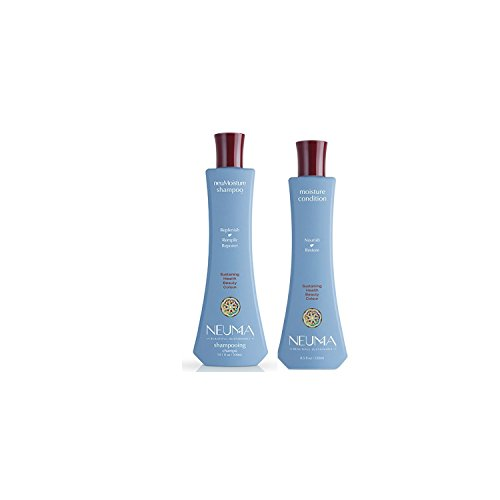 Neuma Sulfate Free Moisture Shampoo 10.1 Oz. & Conditioner 8.5 Oz. Duo (Neuma Hair Products)