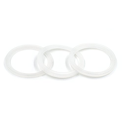 3-Pack Replacement Gaskets for Thermos Funtainer Food Jar 10 Ounce, BPA-FREE Seals Rubber O-Rings Accessories