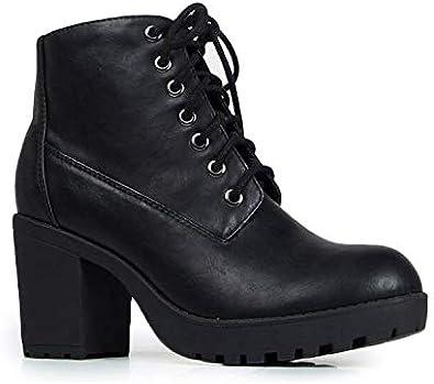 J. Adams Axel Combat Boots for Women