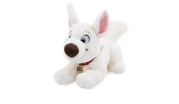Disney Bolt Plush -- 14 by Bolt the dog from Disney movie Bolt 14 plush toy.: Amazon.es: Juguetes y juegos