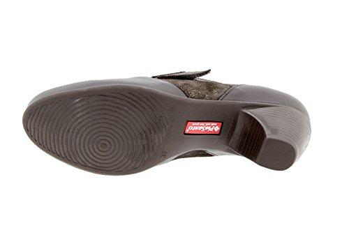 Comfort Caoba Speciale PieSanto Larghezza Donna 9406 Comfort Pelle Scarpe Casual BBqwR7