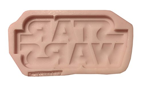 STAR WARS LOGO Silicone Cupcake Toppers Mold By Oh! Sweet Art FDA Approved for Food