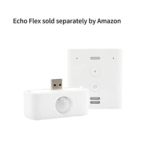 Made for Amazon Motion Sensor for Echo Flex