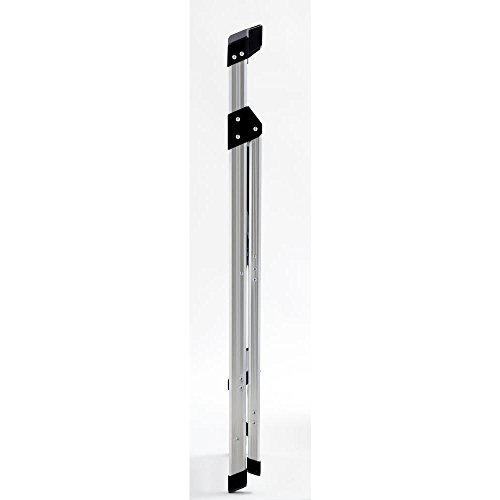 2-Step Aluminum Ultra-Light Step Stool Ladder with Project Tray Top and 225 lb. Capacity, ANSI Type 2 Duty Rating by Gorilla Ladders (Image #1)