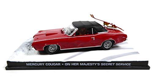 - Mercury Cougar James Bond 007 On her majesty's Secret Service 1/43 (DY021)