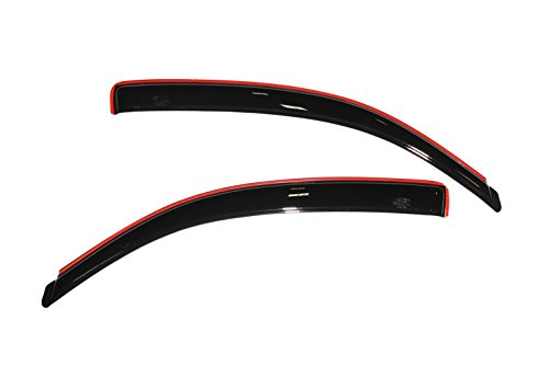 - Auto Ventshade 192706 In-Channel Ventvisor Side Window Deflector, 2-Piece Set for 2005-2015 Toyota Tacoma Access Cab
