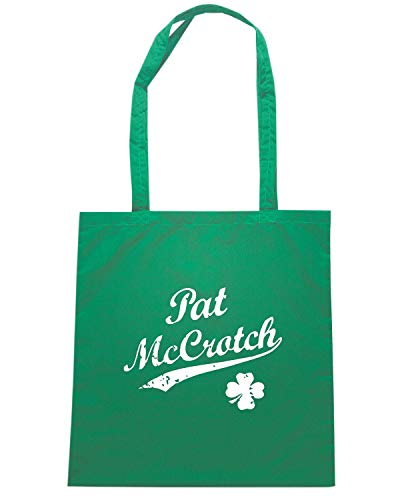 Speed Shirt Borsa Shopper Verde TIR0219 VINTAGE PAT MCCROTCH W