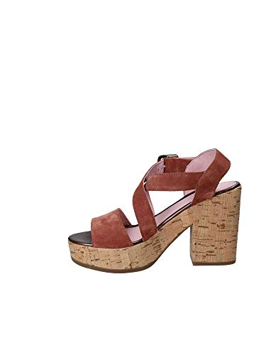 110365 Heeled 35 Sandals High Brown Women Stonefly EBdqA