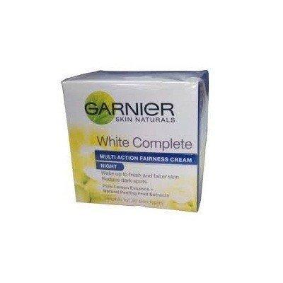 Garnier Skin Naturals White Complete Multi Action Fairness Cream Night (18g) (Pack Of 2)
