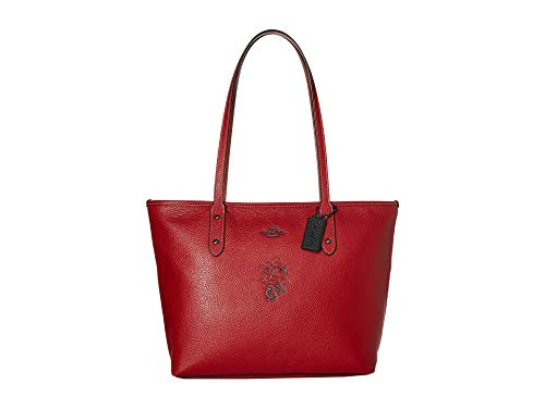 Coach Red Handbag - 4