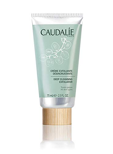 CaudalÍe Deep Cleansing Exfoliator. Purify and Cleanse Face and Improve Texture with Natural Ingredients Infused with Grapefruit, Mint and Orange (2.5 oz / 75 mL)