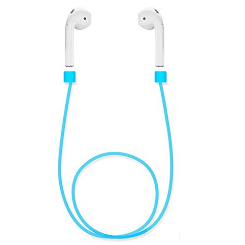 Avaspot Silicone Ear Loop Strap Anti Lost String Rope for AirPods - Blue by Avaspot (Image #4)