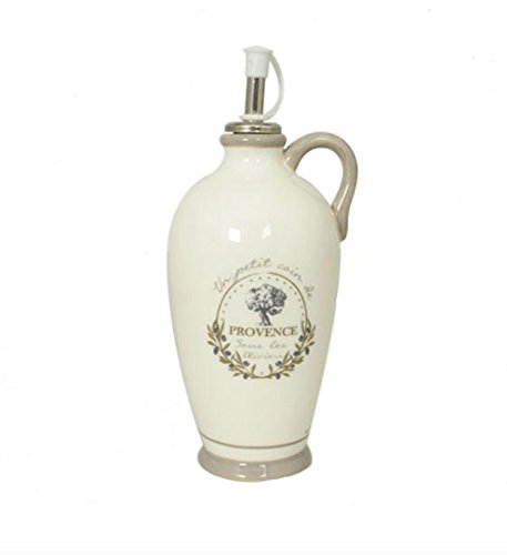 020991 French Inspired Ceramic Provence Olive Oil Pitcher ()