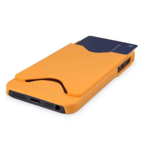Coque Iphone se, BoxWave® Housse Etui avec coque Chargeur avec porte-clés Bonus] [Carte Portefeuille W/compartiments pour cartes bancaires pour Apple iPhone se, 5S, 5–Bleu ciel
