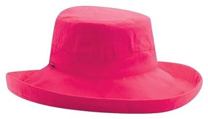 Scala womens Big Brim Cotton Sun Hat Turquoise One Size Scala Collezione LC399