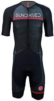 Sundried Hombres Pro Trisuit de Manga Corta Traje de triatlón ...
