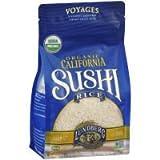 Org Sushi White Rice, 2 pound -- 6 Per Case.