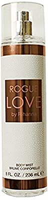 Rihanna Rogue Love Body Mist for Women 8 oz