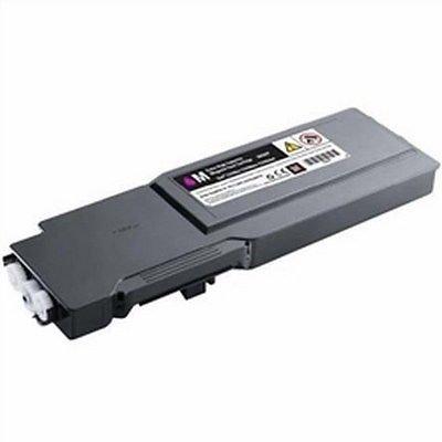 New MAGENTA Toner for DELL 331-8423, 331-8427, 331-8431, 40W00, XKGFP, C3760DN