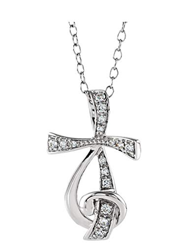 Eliana and Eli Sterling Silver Cubic Zirconia Sing for Joy 18