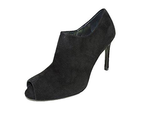 Stuart Weitzman Women's Altamira Boot Black Suede 3.75