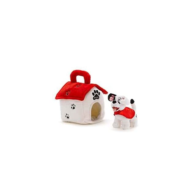 Disney 101 Dalmatians Patch in a Kennel Soft Plush Doll Toy