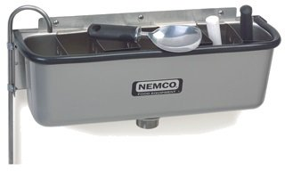 Nemco Ice Cream Dipper Station Spadewell (Excluding Divider) - 19''