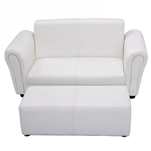 Kids Sofa Armrest Chair Couch Lounge Children Birthday Gift w/ Ottoman - Next Ups Prices Air Day