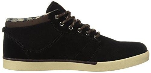 MID Sneaker Solaria uomo Brown JEFFERSON Black Publications Nero Black Red Etnies Grey qnwwtR
