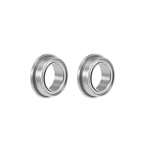 - uxcell FR168ZZ Flange Ball Bearing 1/4