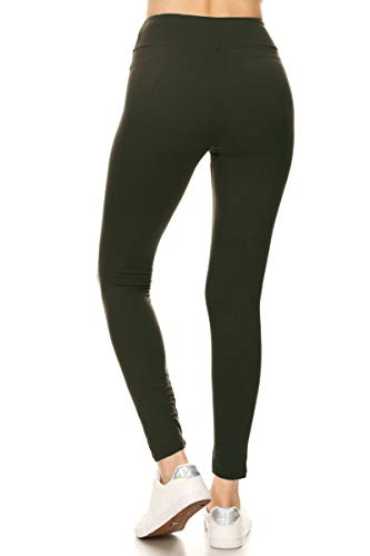 Awesome J Soft Opaque Slim Daily Yoga Pants Activewear