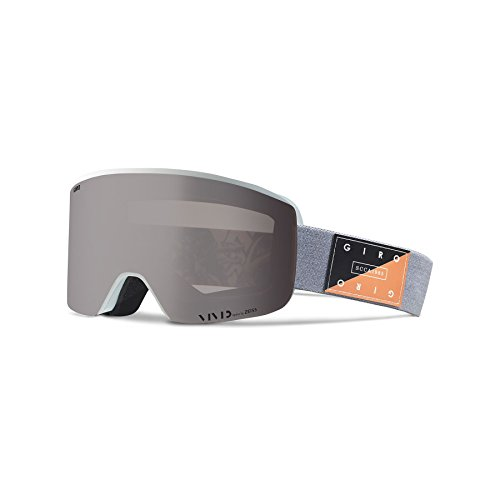 Giro Axis Snow Goggles Grey Piste Out - Vivid Onyx/Vivid Infrared ()