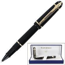 Waterman Phileas Solid Black Rollerball Pen - 49704W by Waterman (Image #1)