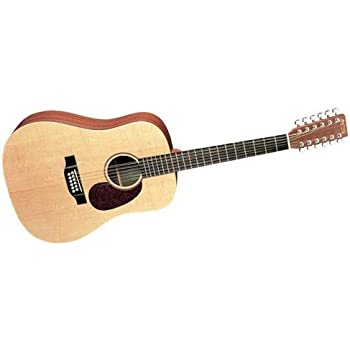 martin d12x1ae 12 string acoustic electric guitar musical instruments. Black Bedroom Furniture Sets. Home Design Ideas