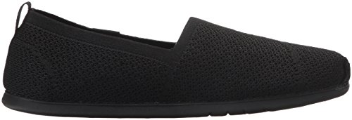 Skechers Bobs Damen Slipper Plush Lite Custom-Built Schwarz, Schuhgröße:EUR 38.5
