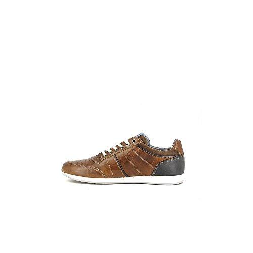 BULLBOXER 132-K2-3768Y Zapatos de Cordones Hombre Cuero, EU 43