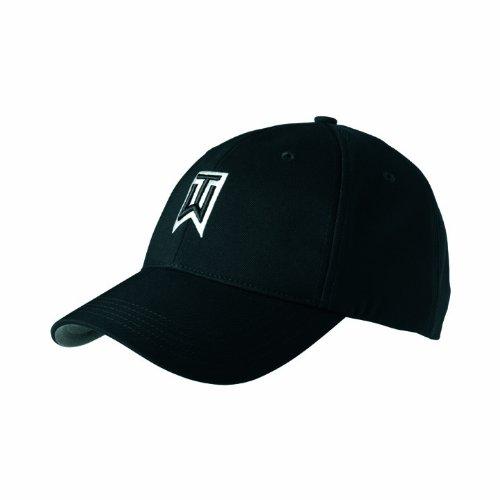 7f4516e26 Buy NIKE Adult Tiger Woods Adjustable Golf Hat, Black Online at Low ...