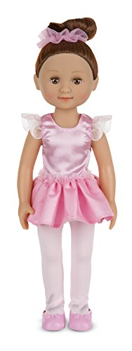 Melissa & Doug Victoria 14-Inch Poseable Ballerina Doll With Leotard and Tutu (Doll Ballerina)